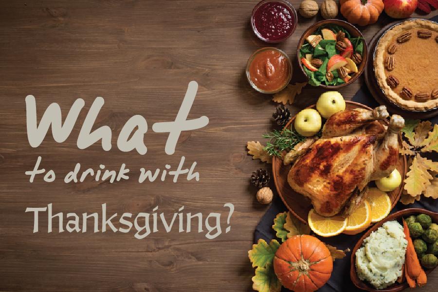 thanksgiving meal drink pairing